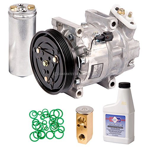 New AC Compressor & Clutch With Complete A/C Repair Kit For Nissan Pathfinder - BuyAutoParts 60-81213RK New (Nissan Pathfinder A/c Compressor)