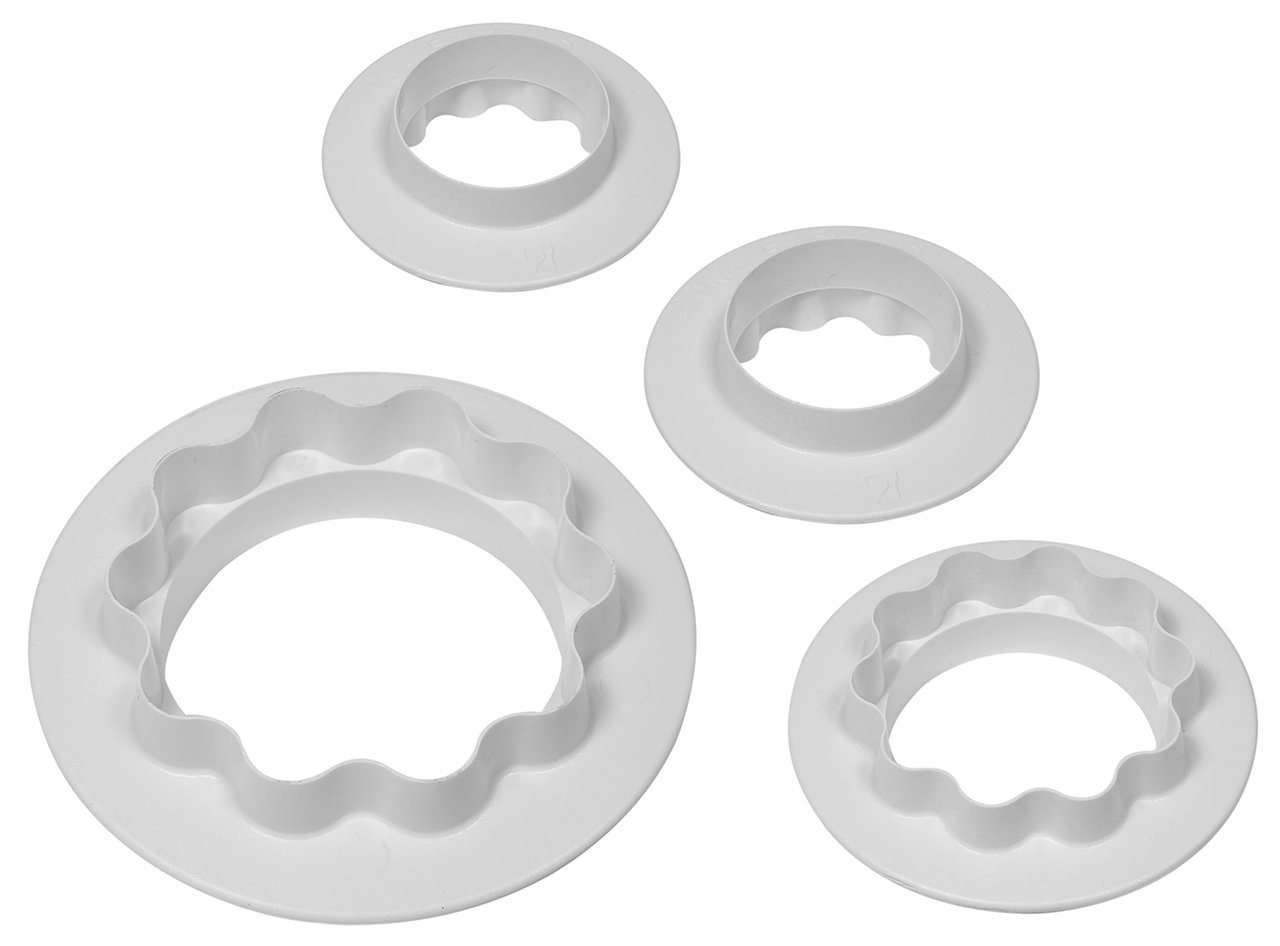 PME Round and Wavy Cutters, 3-Pack RW702