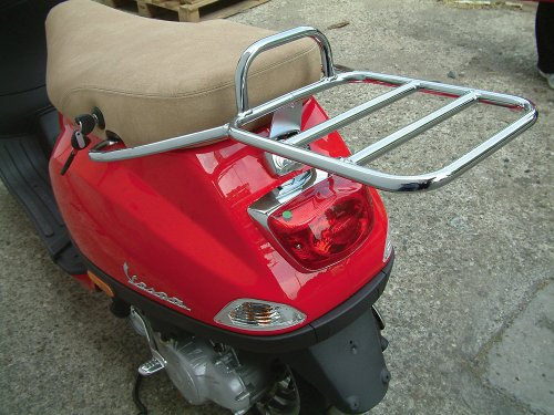 Case Top Rear (Cuppini Rear Rack for Top Case Vespa LX)