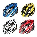 ZX AIDY Adults Adjustable Foam Pad Sports Bike Cycling Helmet BJL-016 , Red , L