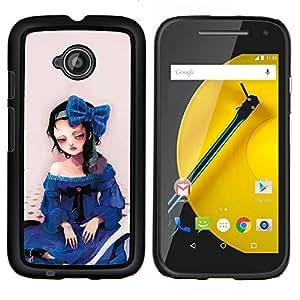 """For Motorola Moto E2 / E 2nd gen , S-type Naturaleza Nube Sombra"""" - Arte & diseño plástico duro Fundas Cover Cubre Hard Case Cover"""