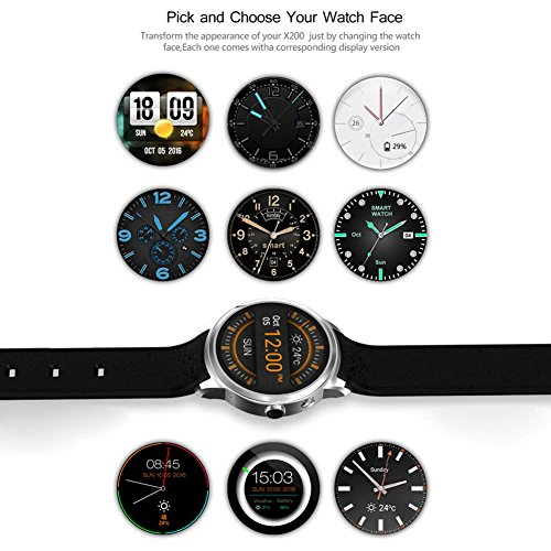 Reloj inteligente Android 5.1 Pantalla OLED de 1.39