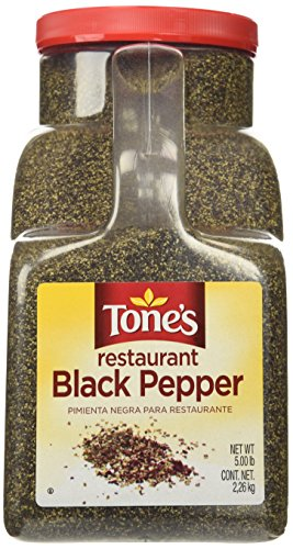 (Tone's Restaurant Black Pepper 5lb.)