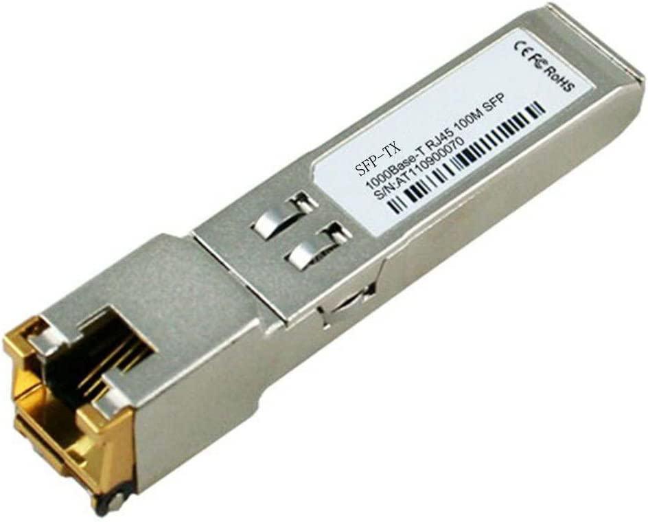 LODFIBER SFP-TX Aruba Networks Compatible 1000BASE-T SFP Copper RJ-45 100m Transceiver