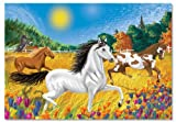 Melissa & Doug Horses in the Meadow 100 Piece Cardboard Jigsaw Puzzle