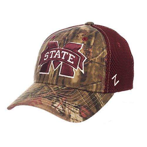 - Zephyr NCAA Mississippi State Bulldogs Men's Terrain Cap, Medium/Large, Mossy Oak Camo