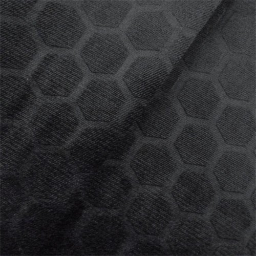 P. Kaufmann Black Symmetry Velvet Home Decorating Fabric, Fabric by The Yard