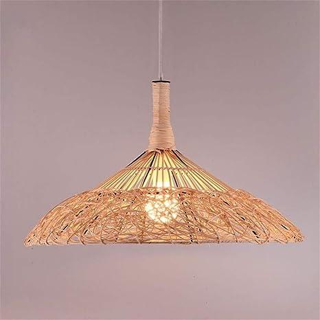 Natural Lámpara Iluminación De Colgante Luz Techo Custom UpqzVLSMG