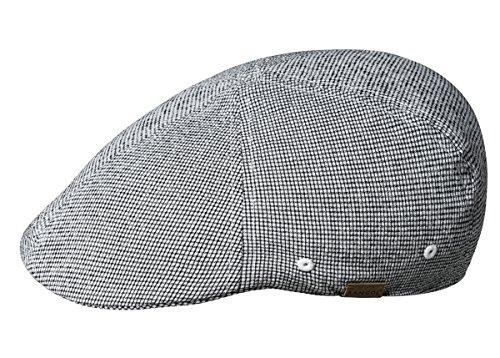 Kangol Men's Pattern Flexfit 504 Ivy Cap, Micro Check, S/M