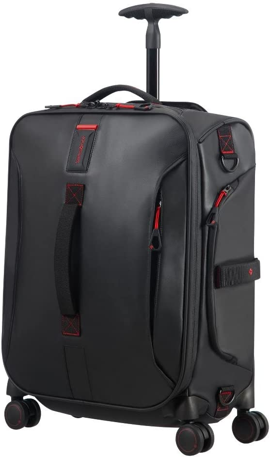 Samsonite Paradiver Light - Bolsa de Viaje, Negro (Black), S (55 cm - 50 L)
