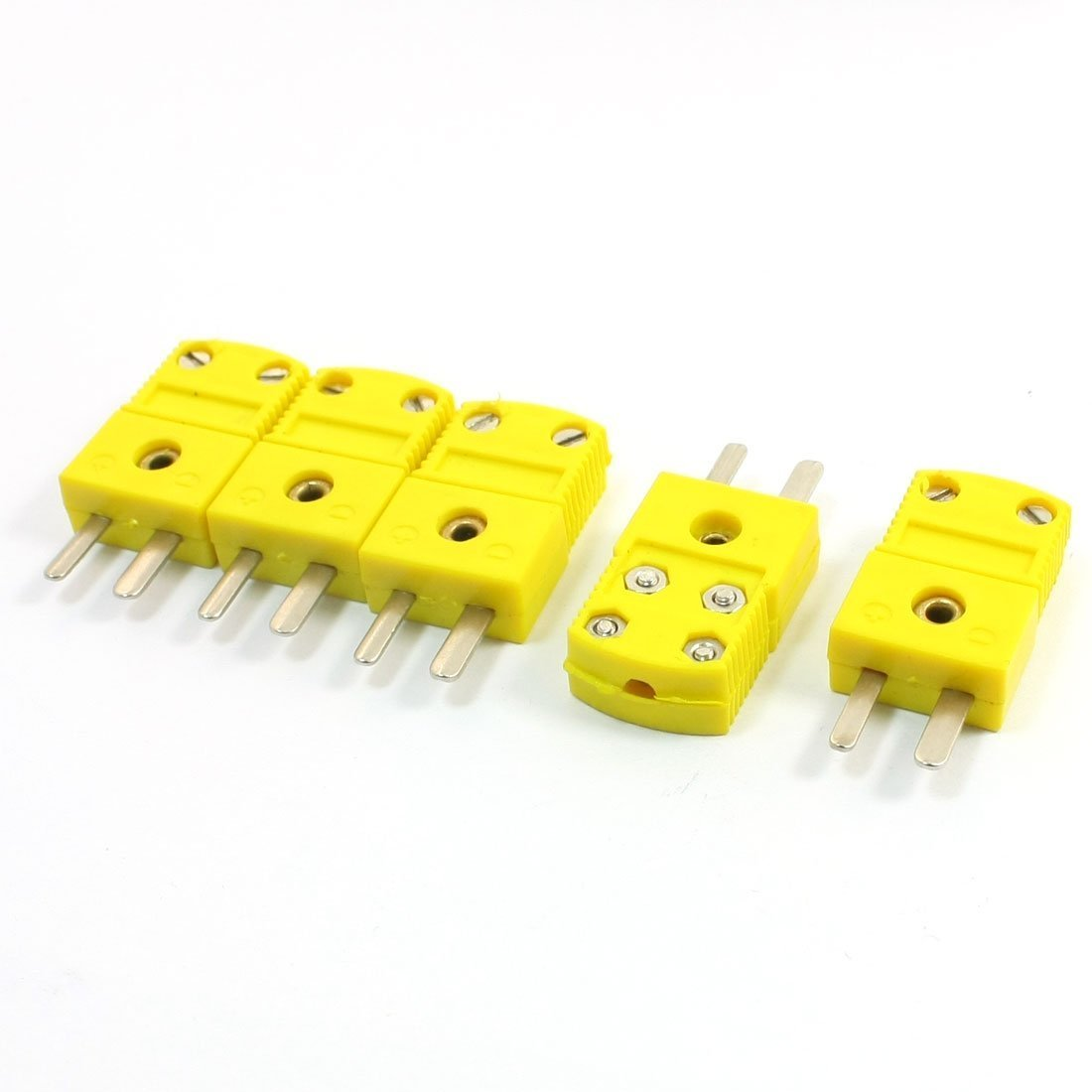 K Type Temperature Controller Circuit Diagram Thermocouple Sensors Podoy Connector Adapter Yellow For Mini Plug 5 Pack