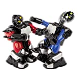 robots boxing - Blue Hat Remote Controlled Battle Boxing Robots (Set of 2), Red and Blue Color, Ages 6 above