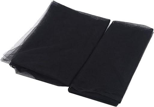 Sawyerda Moustiquaire Filet Moustiquaire Filet Adh/ésif pour Fen/être Anti Moustique 1.3*1.5M Noir