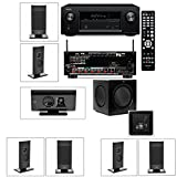 Klipsch Gallery G-12 7.1 Home Theater System-SW-310-Denon AVR-X2100W 7.2Channel