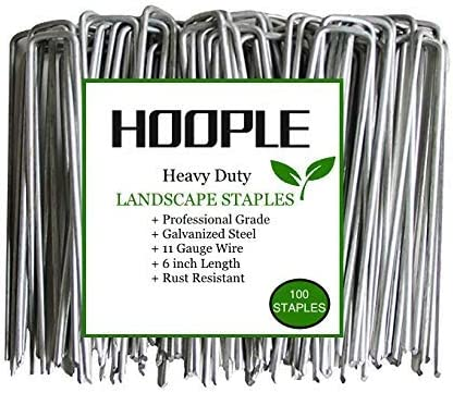Hoople 100 Pack Heavy Duty U Shaped Securing product image