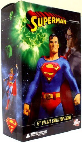 DC Direct 13 Inch Deluxe Collectors Action Figure Superman by DC Direct ()