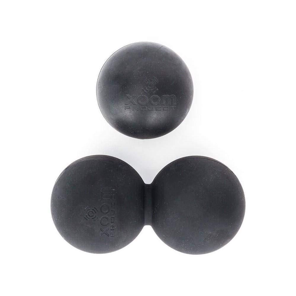 Pack pelotas Lacrosse - Negro Xoom Project