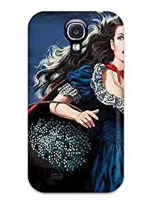 For YHWUwnV4508jfvDW Girl With The Red Cape Protective Case Cover Skin/galaxy S4 Case Cover