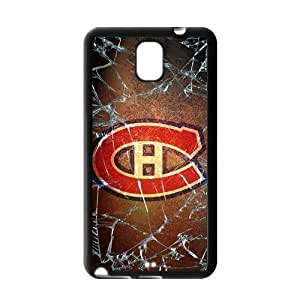 Icasepersonalized Personalized Protective,NHL Montreal Canadiens Case for Samsung Galaxy Note 3.