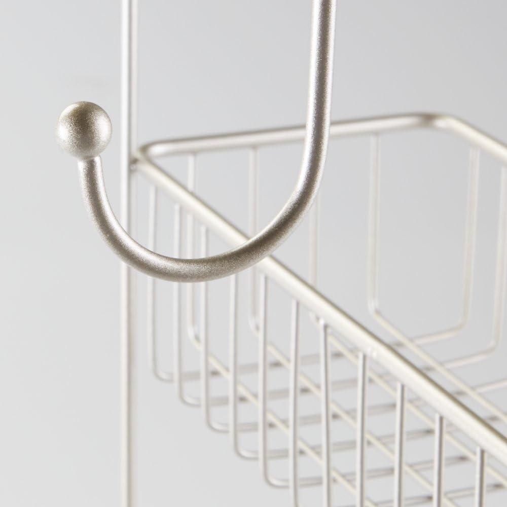 mDesign – Organizador de ducha para colgar sobre la mampara ...