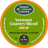 Keurig, Green Mountain Coffee, Vermont Country Blend Decaf, K-Cup Packs, 24 Count