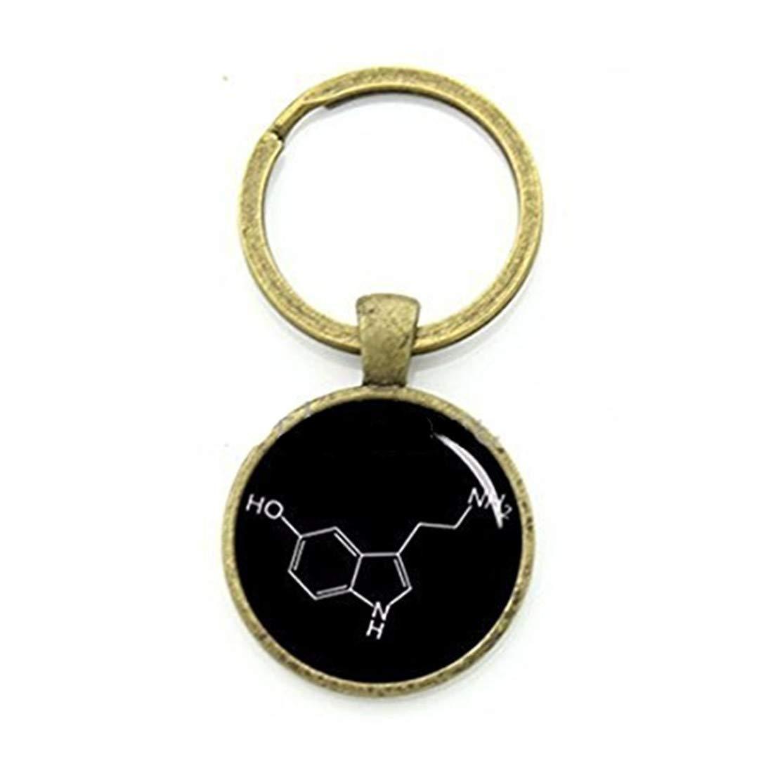 Novio Regalo serotonina química biología química fórmula ...
