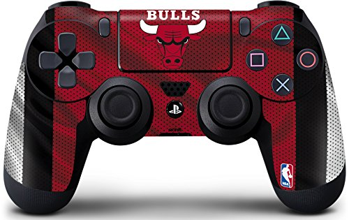 - Skinit Chicago Bulls Away Jersey PS4 Controller Skin - Officially Licensed NBA Gaming Decal - Ultra Thin, Lightweight Vinyl Decal Protection