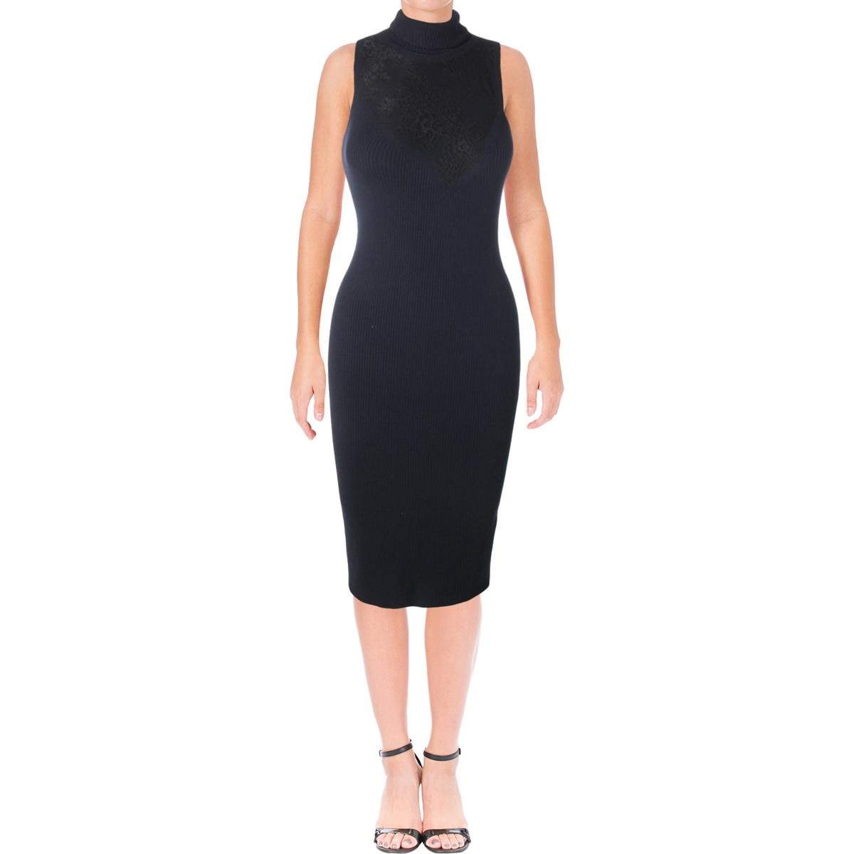 Rag & Bone Womens Carolyn Turtleneck Sleeveless Cocktail Dress