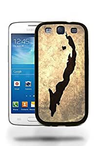 Cuba National Vintage Country Landscape Atlas Map Phone Case Cover Designs for Samsung Galaxy S3