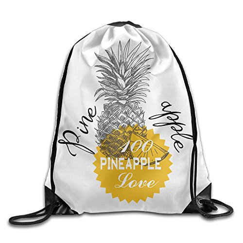 Maurm Pineapple Love 2017 Drawstring Bags Cool Backpack Shoulder Bags Gym Sport - Juicy Bag Daydreamer Couture