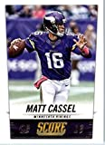 2014 Score Football Card #121 Matt Cassel - Minnesota Vikings