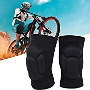 Sports Knee Pads Thick Sponge Anti-Slip/Collision/Fall Knee Sleeve for Volleyball Player Goalkeeper Kneeling D