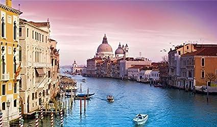 Amazon Com Landscape Street Venice Italy Wallpaper Wall