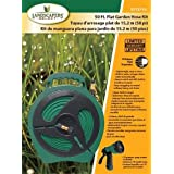 Mintcraft YP1121 Flat Hose Reel With Nozzle 50'