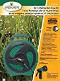 Mintcraft YP1121 Flat Hose Reel With Nozzle, 50'