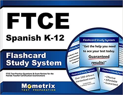 FTCE Spanish K-12 Flashcard Study System: FTCE Test Practice ...