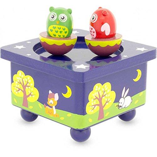 Ulysse Couleurs D'enfance - 3907 - Boîte A Musique Hibou Ulysse couleurs d' enfance Boîtes à musique