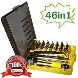 3D Printer Kit - QUIET 46 Piece Precision Screw Driver Set Magnetic Tool Repair Kit, Professional Repiar Phone,Tablet PC, Laptop Pad ,Watch & DIY Etc Electronics Repair Tool Kit