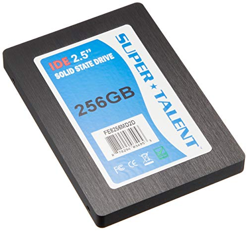 (Super Talent 2.5-Inch 256GB 44-Pin IDE/PATA Internal SSD FE8256MD2D )