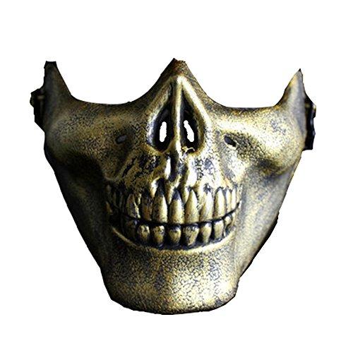 Creepy Mask For Outdoor (Deadpool Halloween Funny)