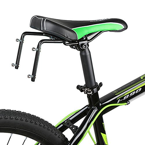 SUPOW Bike Two Water Bottle Cage Mount - Aluminum Alloy - Double Kettle Holder Bicycle Saddle Equipment