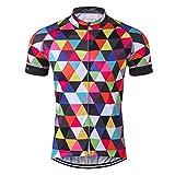Men's Cycling Jersey Short Sleeve Bike Clothing