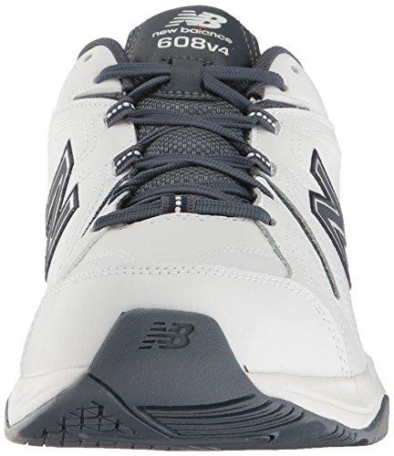 New Balance Mens MX608v4 Training Shoe White/Outerspace