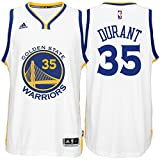 Kevin Durant Golden State Warriors White Youth Adidas Swingman Home Jersey (Medium 10/12)