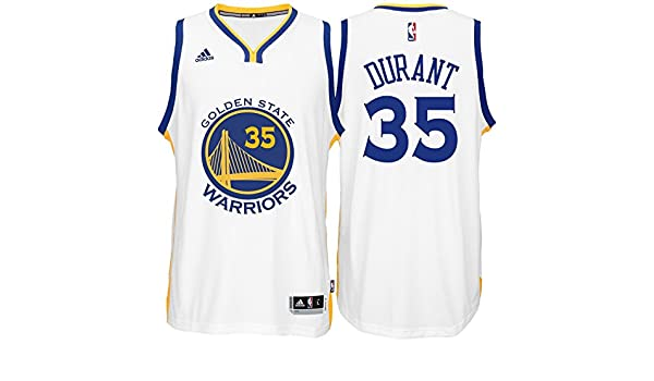 online store f4111 9462a Amazon.com : adidas Kevin Durant Golden State Warriors White ...
