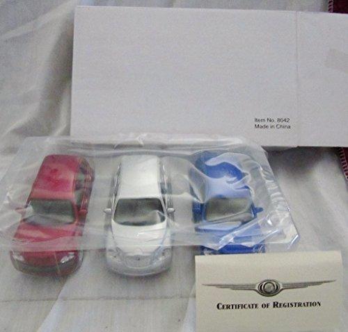 Set of 3 Maisto Chrysler Collection of the PT Cruiser,GT Cruiser,Panel (Panel Cruiser)