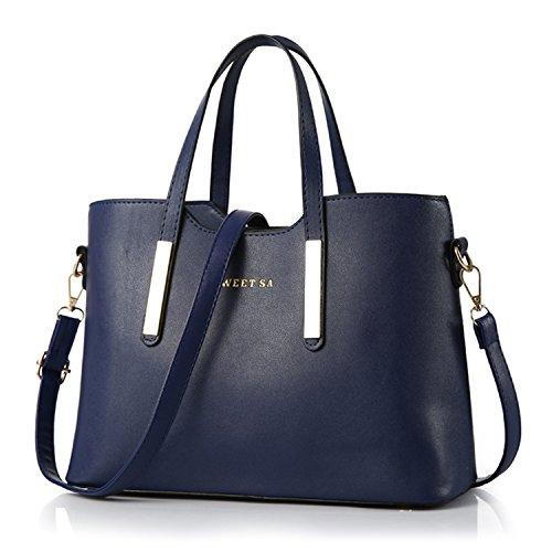 a nbsp;scuro Blu Donna Borsa Sweet Designer Bag a Mano Spalla PU BYD alta Borse pelle qualità Sa borsa Fashion T7wBAqn