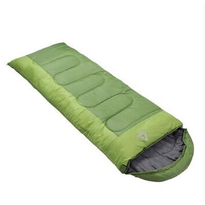 Sacs de couchage en plein air Automne et hiver peuvent être épissés Double épaississement Camping ultra-léger Enveloppe Sac de couchage pour adultes