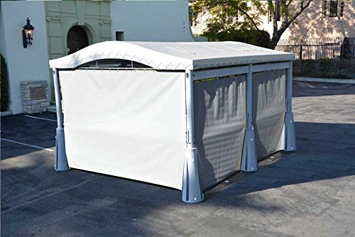 GoPort Curtain Kit for Portable Shelter, Carport by GoPort