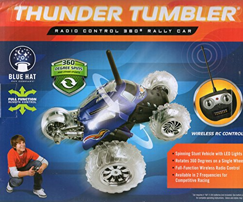 Thunder Tumbler Radio Control 360 Degree Rally Car Red